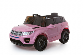 12V Pink Evoque Style Battery Ride On Car